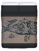 Black Sea Bass - Grouper - Rockfish Duvet Cover