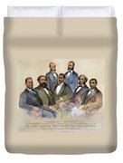 Black Senators, 1872 Duvet Cover