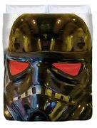 Black Stormtrooper - Pa Duvet Cover