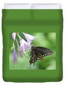 Black Swallowtail Duvet Cover