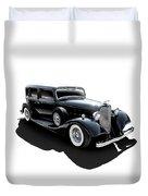 Black Tie Affair Duvet Cover