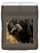 Black Vulture 2 Duvet Cover