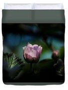 Blackberry Flower At Dusk Duvet Cover