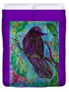 Blackbird Duvet Cover