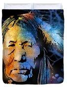 Blackfoot Woman Duvet Cover