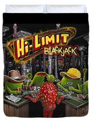 Blackjack Pimps Duvet Cover