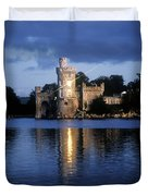 Blackrock Castle, River Lee, Near Cork Duvet Cover by The Irish Image Collection