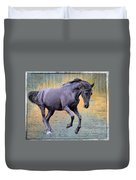 Blacks Danse Duvet Cover