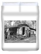 Blacksmith And Tool Shed Duvet Cover