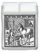 Blacksmith, C1250 Duvet Cover