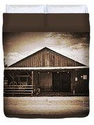 Blacksmith Shop Duvet Cover