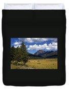 Blacktail Plateau Duvet Cover