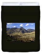 Blacktail Road Landscape 2 Duvet Cover by Marty Koch