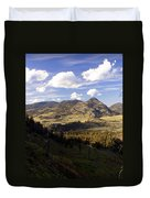 Blacktail Road Landscape Duvet Cover