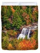 Blackwater Falls Wv Duvet Cover