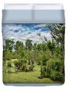 Blackwater Swamp Duvet Cover