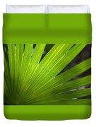 Blades Of Green Duvet Cover