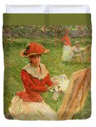 Blanche Hoschede Painting Duvet Cover