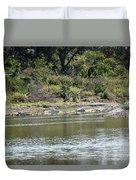 Blanco River - Texas Duvet Cover