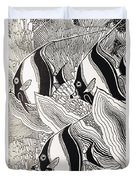 Blandings Angelfish Duvet Cover