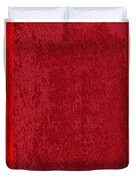Blank Red Book Cover Duvet Cover