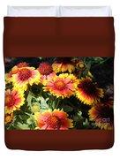 Blanket Flowers Duvet Cover