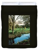 Blarney Castle Grounds Duvet Cover