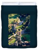 Blarney Castle Ruins In Ireland Duvet Cover