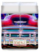 Blazing Chevy Duvet Cover