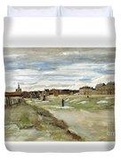Bleaching Ground At Scheveningen Duvet Cover