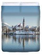 Bled Island Winter Dreams Duvet Cover