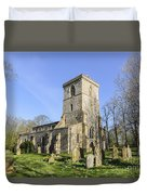 Bledlow Church Duvet Cover