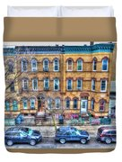 Bleecker Street In Bushwick - Brooklyn Duvet Cover