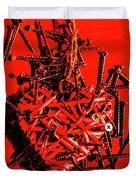 Bleeding Hearts Duvet Cover