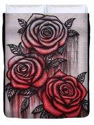 Bleeding Roses Duvet Cover
