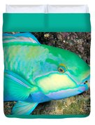 Bleekers Parrot Fish Duvet Cover