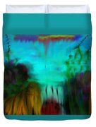 Lands Under The Sea - Abstract Landscape Duvet Cover