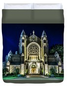 Blessed Sacrement Cathedral Duvet Cover