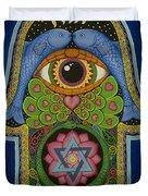 Blessing Duvet Cover by Galina Bachmanova