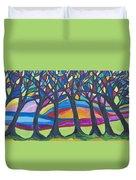Blessing Trees 3 Duvet Cover