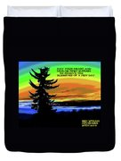 Blessings Of A New Day Duvet Cover