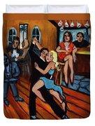 Bleu Tango Duvet Cover