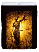 Blind Justice  Duvet Cover