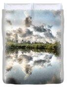 Blind Pass Bayou Sanibel Island Florida Duvet Cover