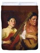 Blind Singers 1912 Duvet Cover