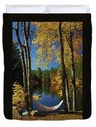 Bliss - New England Fall Landscape Hammock Duvet Cover