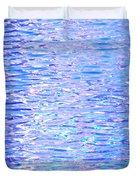 Blissful Blue Ocean Duvet Cover