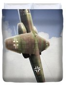 Blitz On The Clouds Duvet Cover