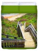 Block Island Beach - Rhode Island Duvet Cover
