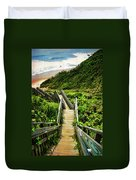 Block Island Duvet Cover by Lourry Legarde
